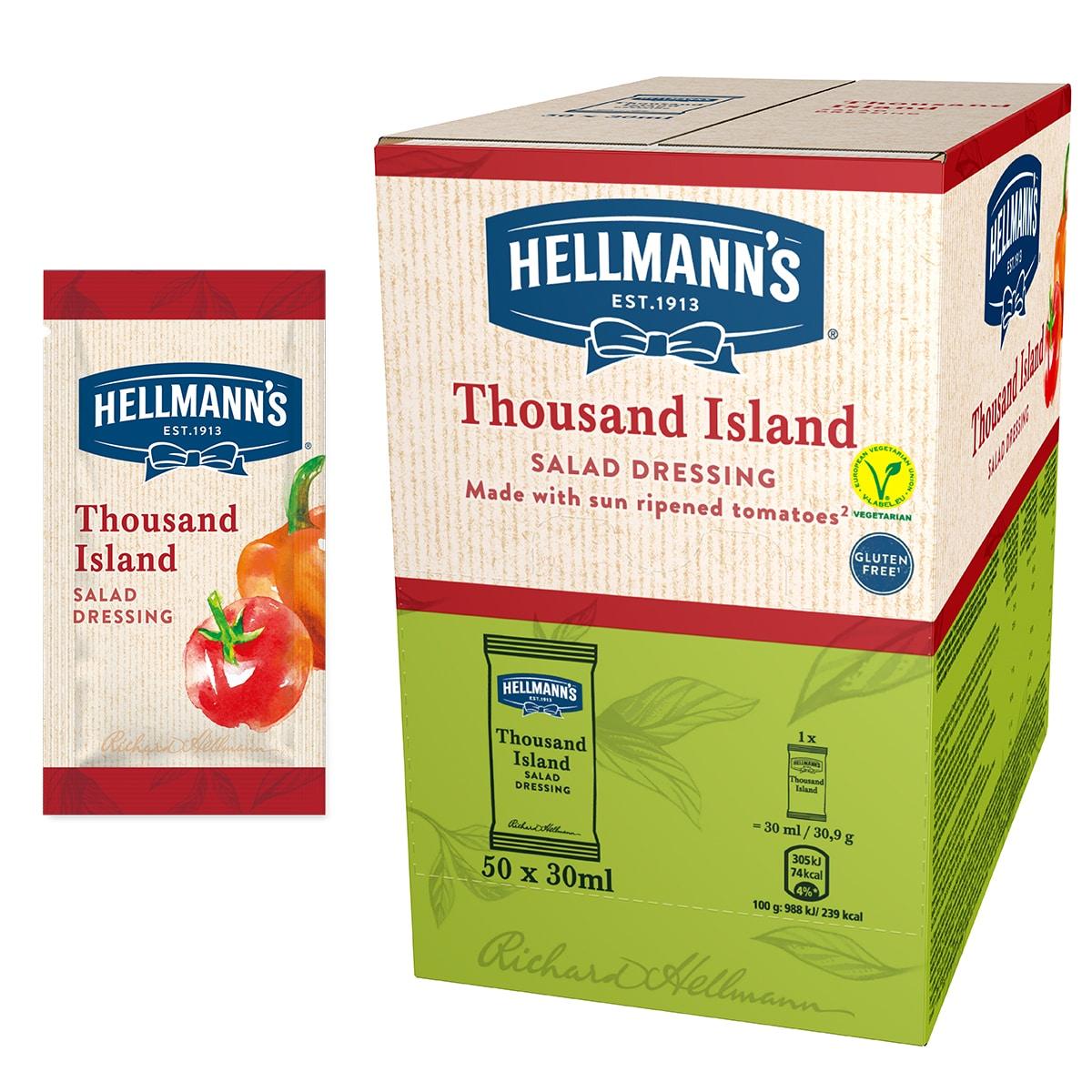 Hellmann's 1000 island solatni preliv 30 ml