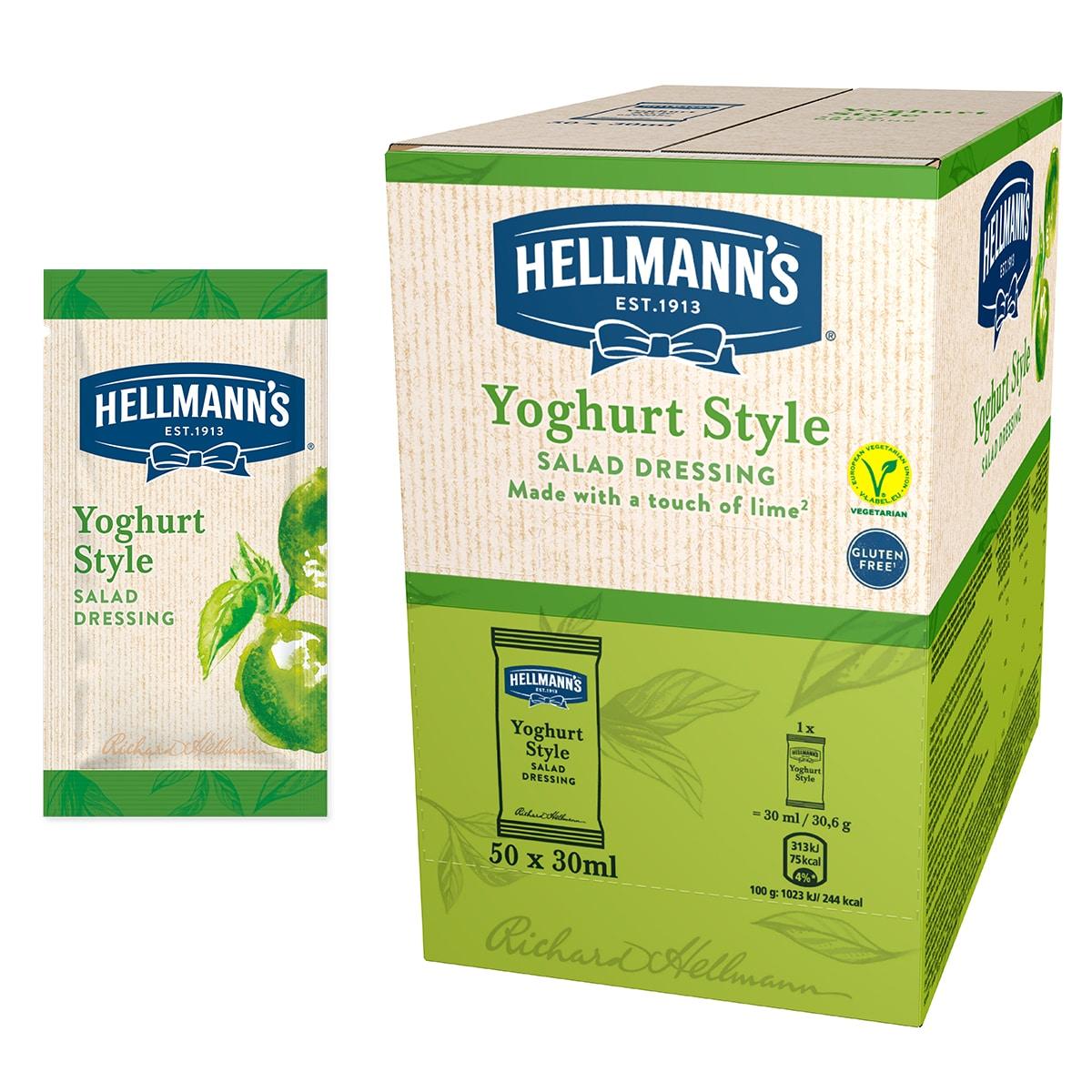 Hellmann's Solatni preliv z okusom jogurta in limete 30 ml