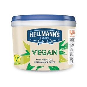 Hellmann's veganska  majonezna omaka 2,5 kg