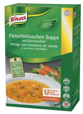Knorr Juha z govejimi cmočki in testeninami 2,4 kg -