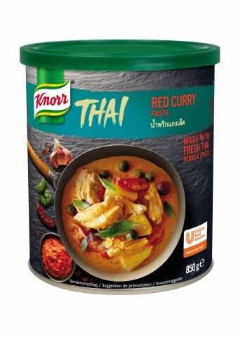 Knorr Rdeči Thai-Curry 850 g -