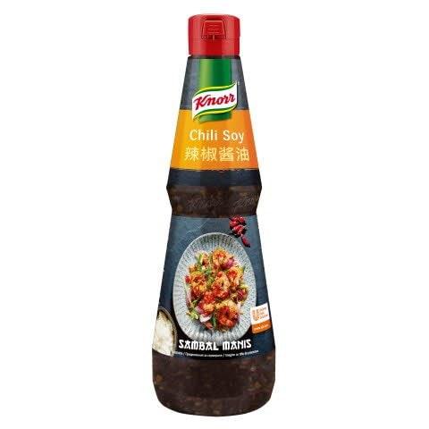 Knorr Sambal Manis – pikantna omaka s čilijem in sojo 1 l -
