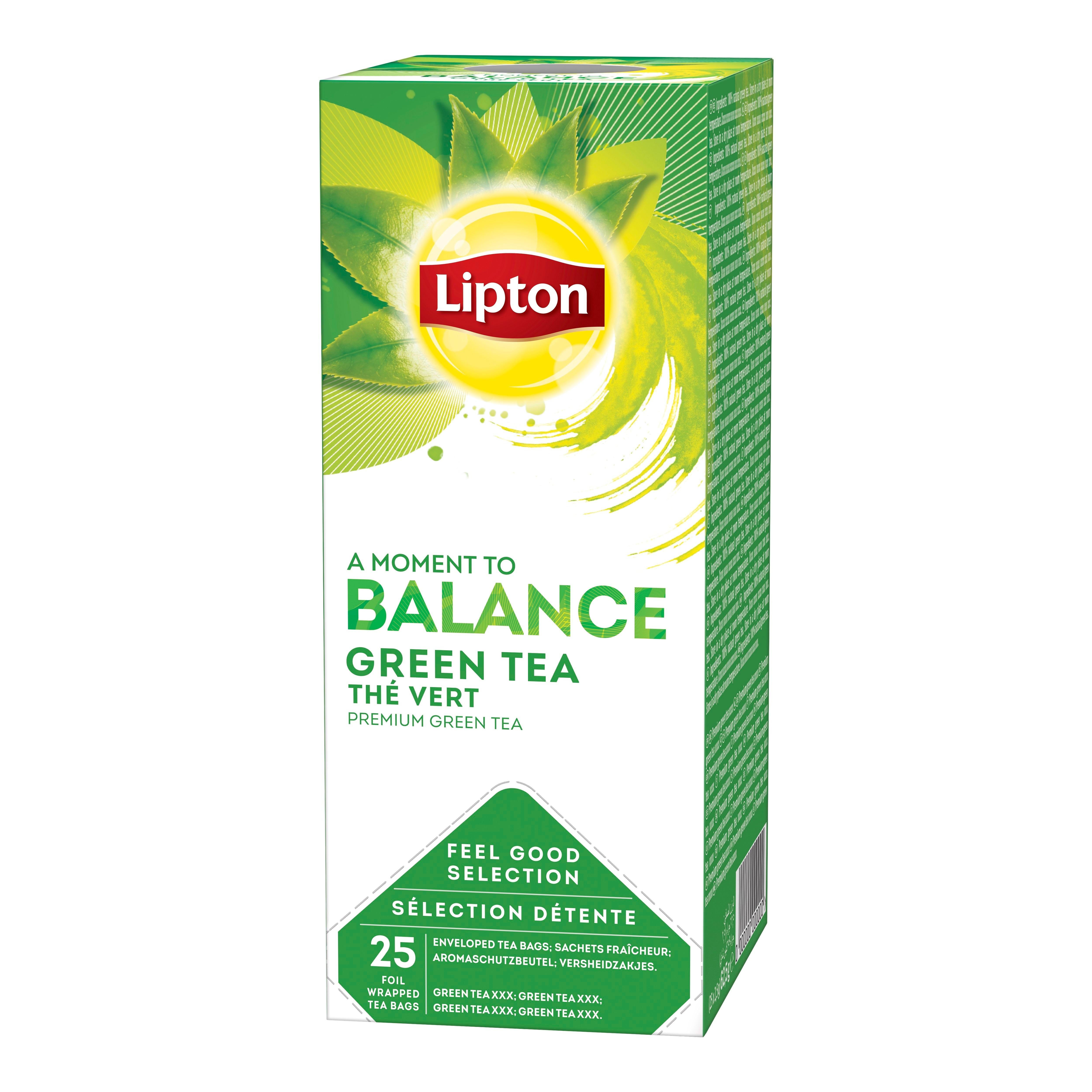 Lipton zeleni čaj 25/1 - Na voljo so različni Lipton čaji: zeliščni, črni, zeleni in sadni.