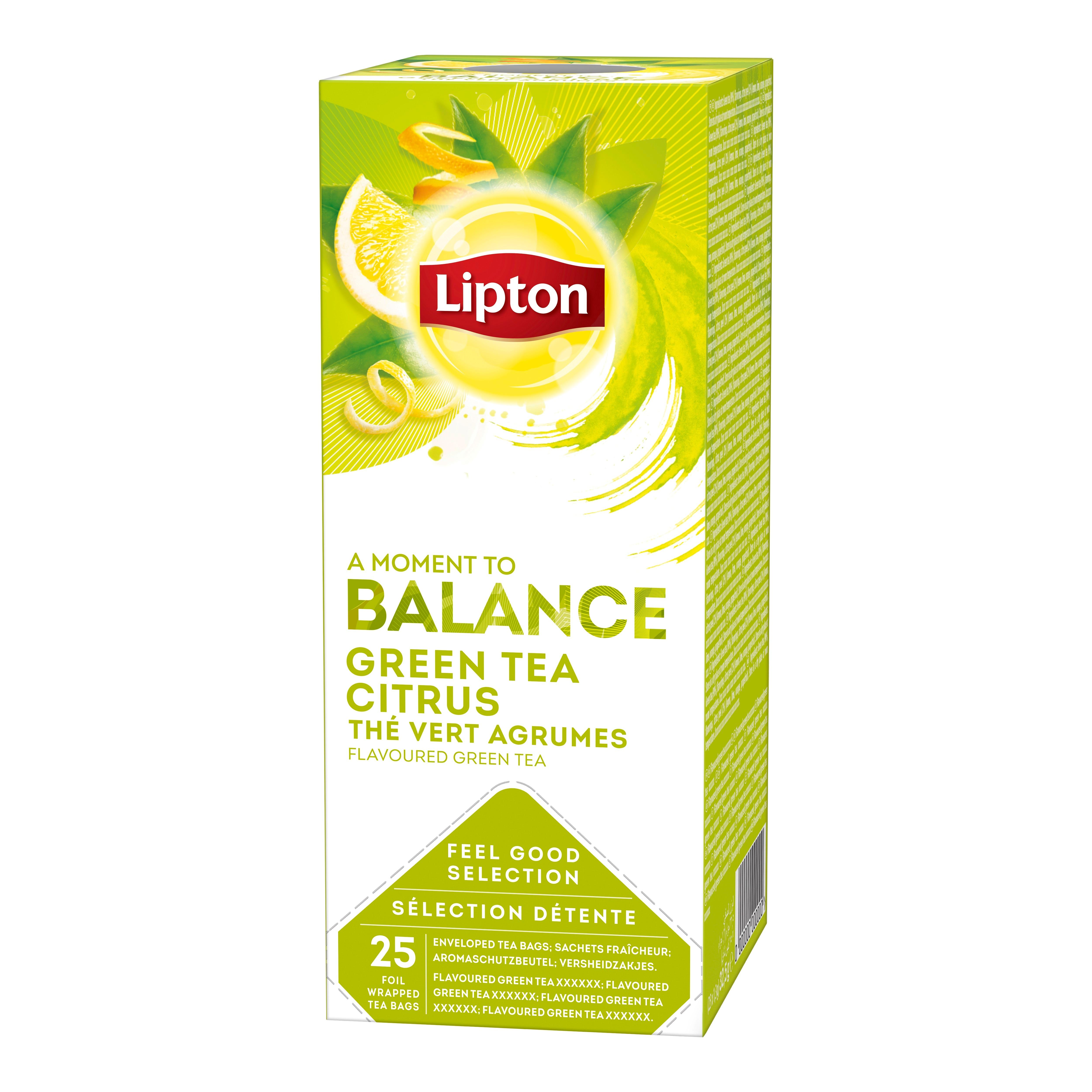Lipton zeleni čaj s citrusi 25/1