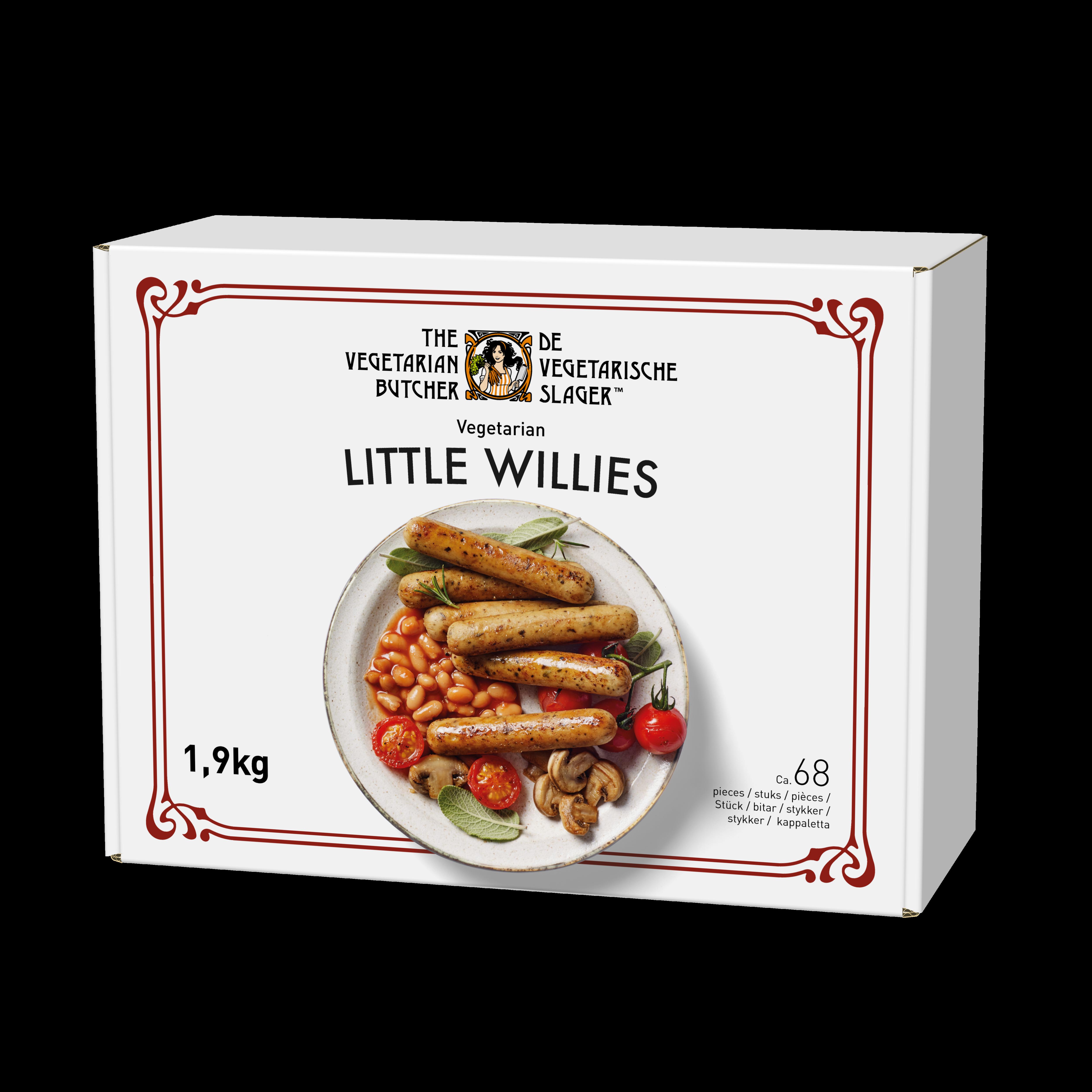 The Vegetarian Butcher Little Willies - Rastlinske mini klobasice 1,9 kg