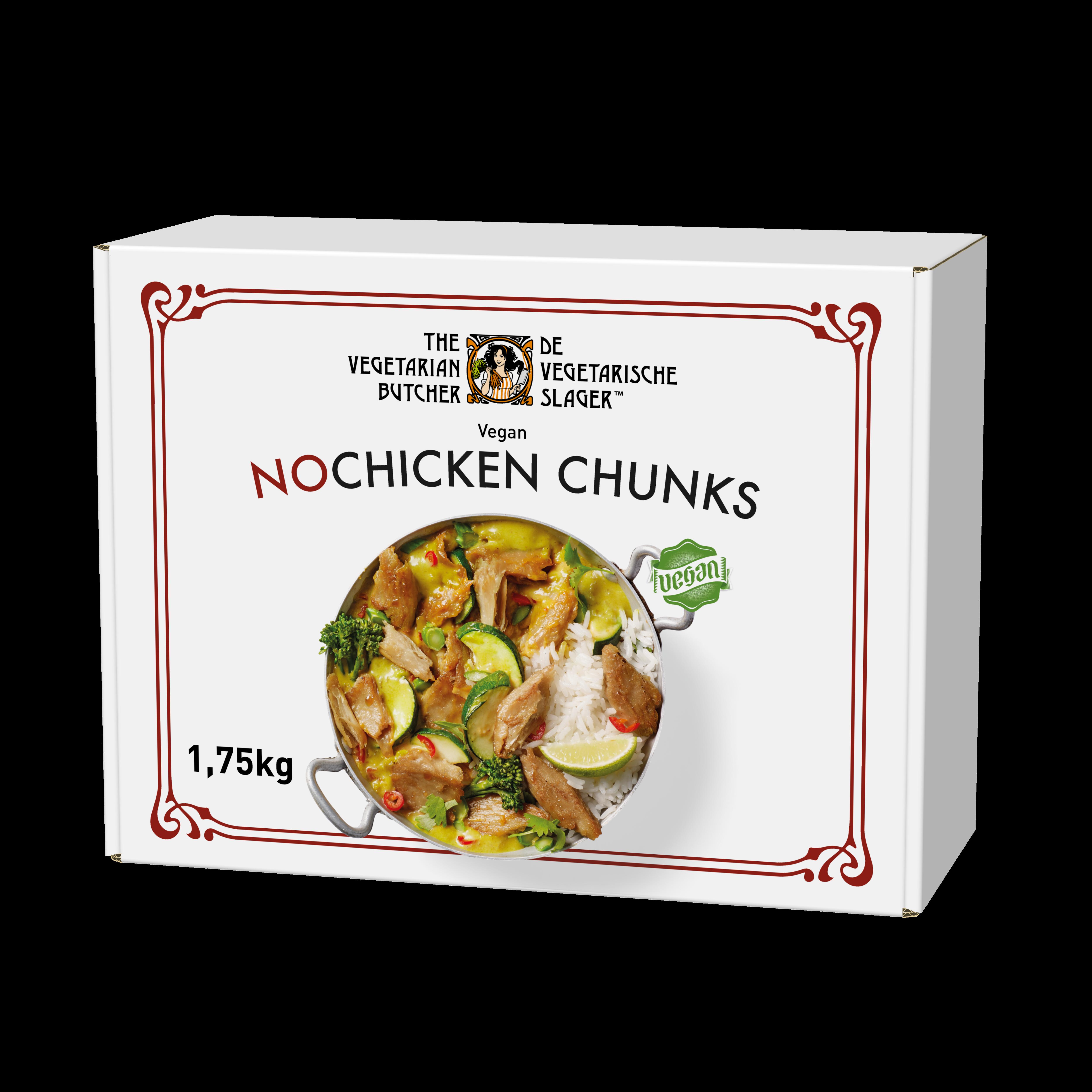 The Vegetarian Butcher NoChicken Chunks - Rastlinski sojini koščki 1,75 kg
